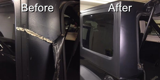 Jeep Before & After